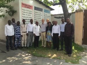 The IECD team in DRC
