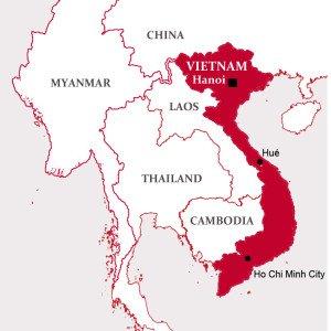 Ho Chi Minh Vietnam Map.Southeast Asia Vietnam Iecd