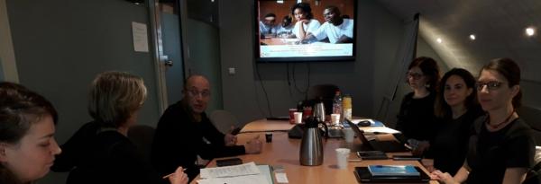 1er comité de pilotage de la CPP