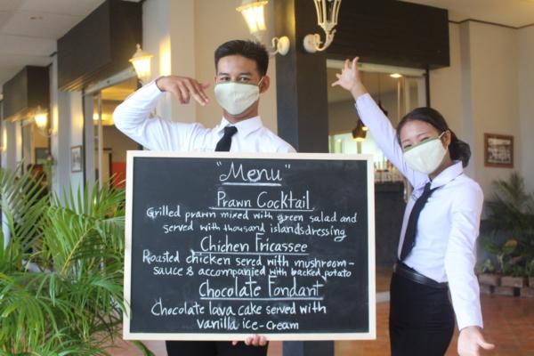 Thaïlande : Ecole hôtelière de Mae Sot